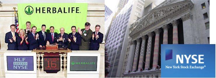 Herbalife quotata borsa new york NYSE